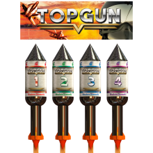 Topgun - 4 Rocket Pack (6/1)
