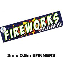 Promotional Item : 2m x 0.5m Banners