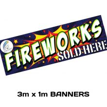 Promotional Item : 3m x 1m Banner