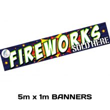 Promotional Item : 5m x 1m Banner