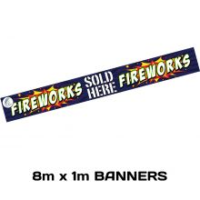 Promotional Item : 8m x 1m Banner
